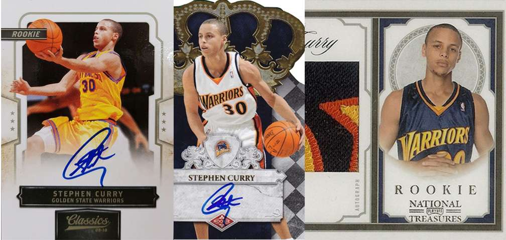 Stephen Curry And His Top 3 Rookie Cards Fivecardguys