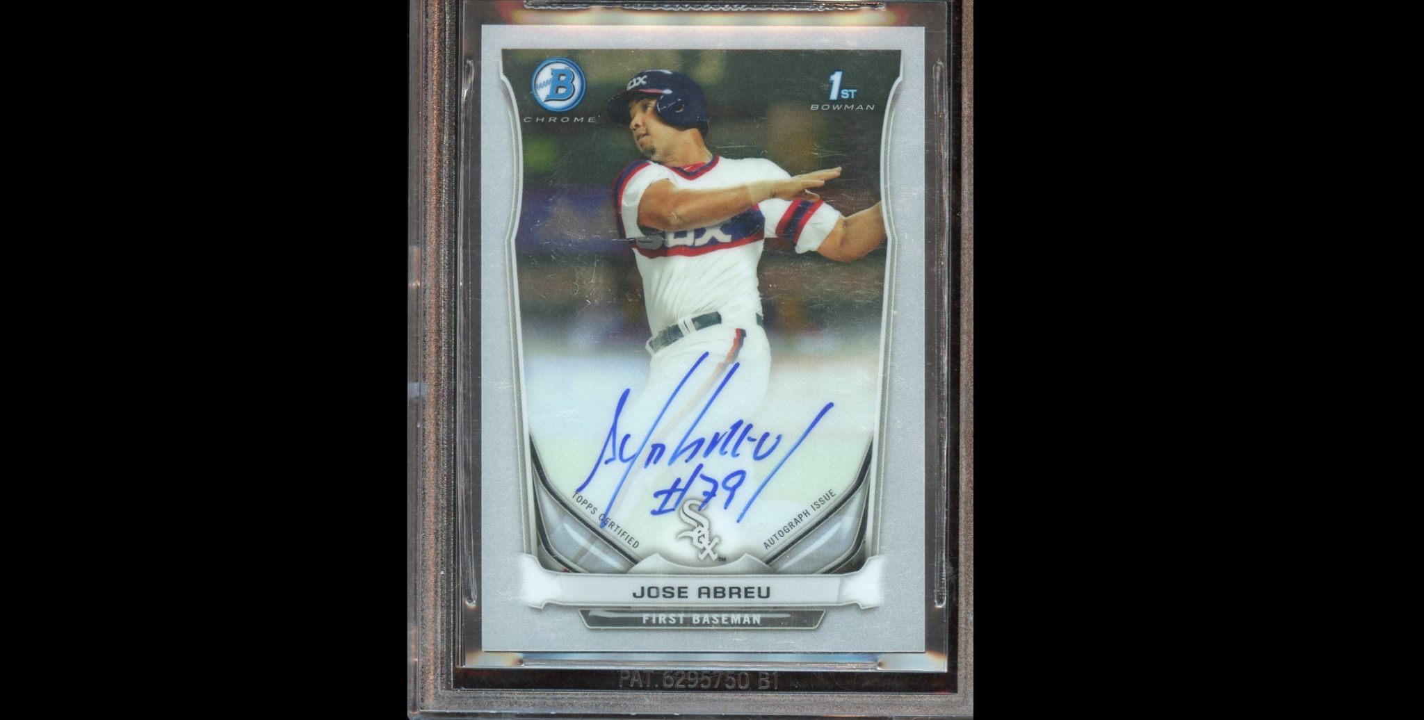 Chicago White Sox Jose Abreu Hits For Cycle Rookie Card May