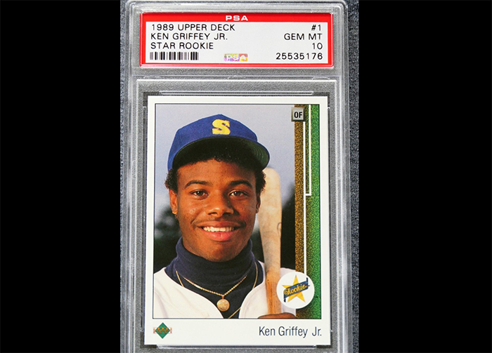 Original Photo Used For Iconic Ken Griffey Jr Upper Deck