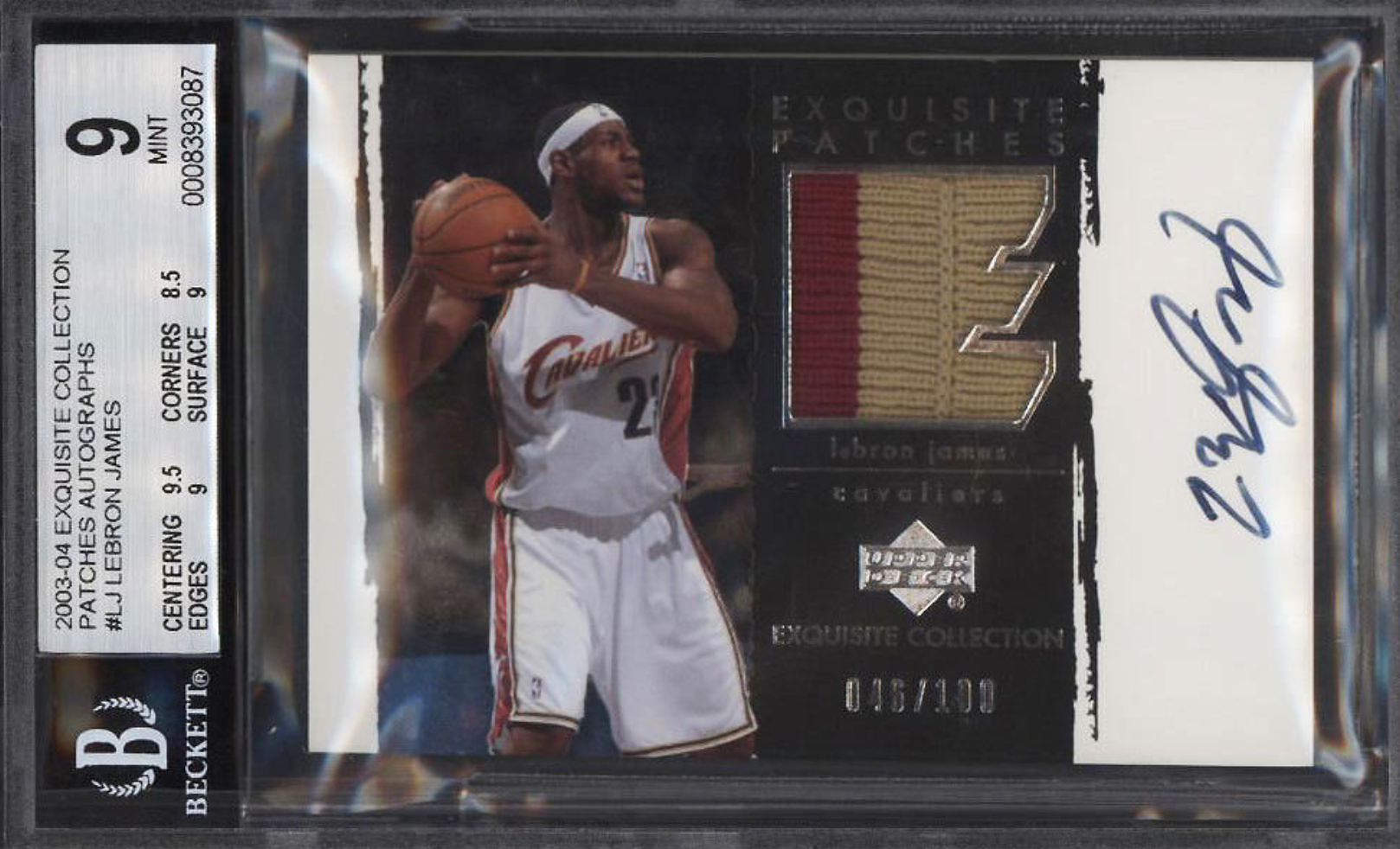 official photos 0a5b8 742cb Amazing high-end basketball cards up on auction including ...