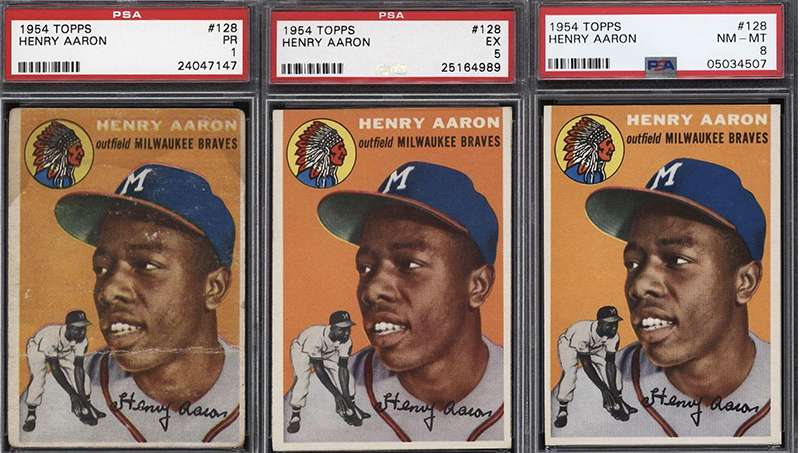 Looking For A Hank Aaron 1954 Topps Rookie Card Plenty To