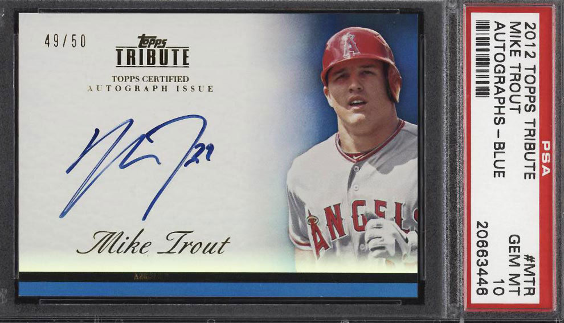 Waiting To Bid On A Mike Trout Rookie Card So Many Available Today