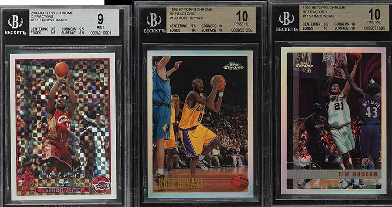 All These High End Basketball Rookie Cards Up For Auction End