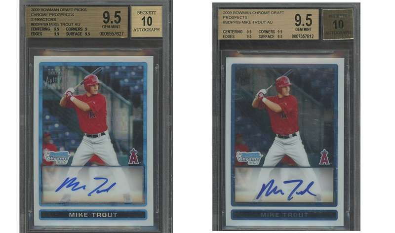 Looking For A Mike Trout Bowman Chrome Autograph Rookieprospect