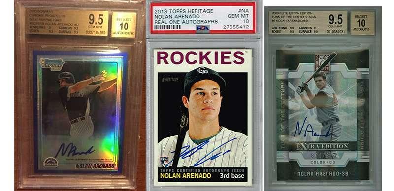 8b303270c Nolan Arenado and his top 3 rookie cards