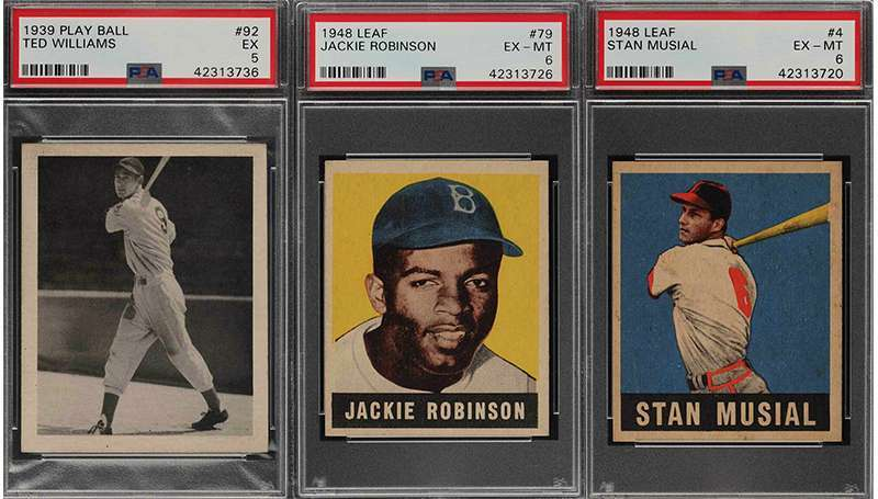 What A Trio Jackie Robinson Stan Musial Ted Williams