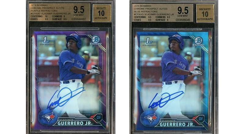 Look For These Vladimir Guerrero Jr Autograph Rookie Cards