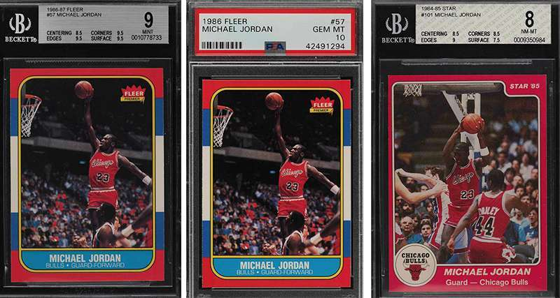Another Good Day For Michael Jordan High End Rookie Card