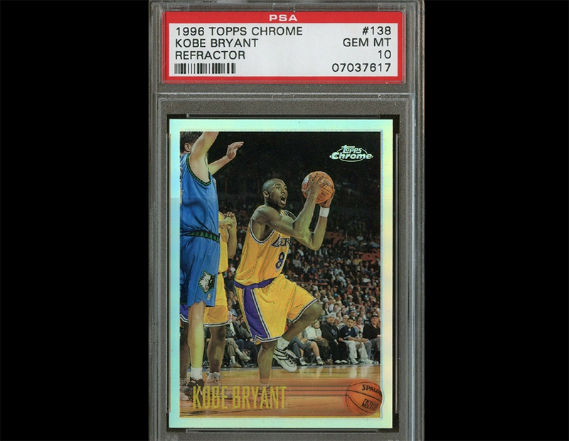 Tough Kobe Bryant Rookie Card To Find Graded This Well
