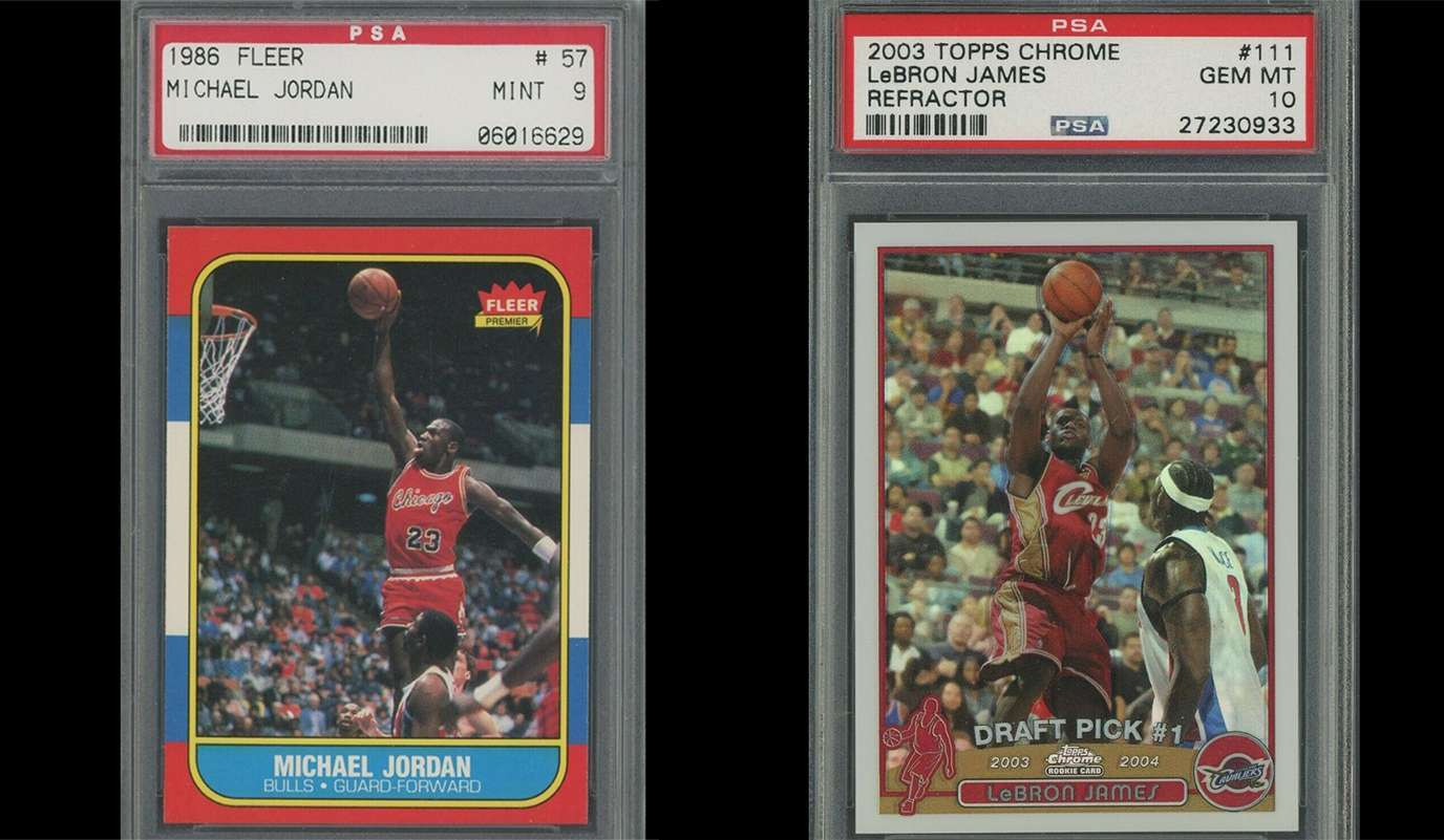 Would You Rather Own A Lebron James Or Michael Jordan Rookie Card