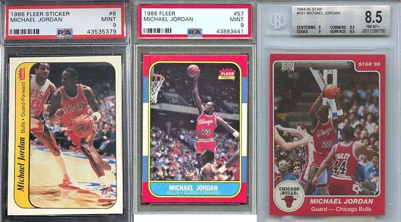 Michael Jordan And His Top 3 Rookie Cards Fivecardguys
