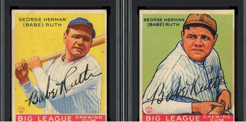 Nscc 2019 Highlights Day 5 Babe Ruth Goudey Baseball